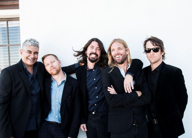 Foo Fighters photo by Ringo Starr stand
