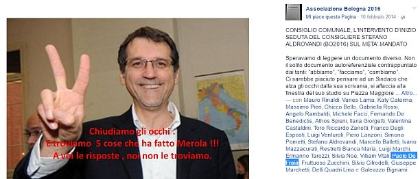 paolo de fraia post anti merola